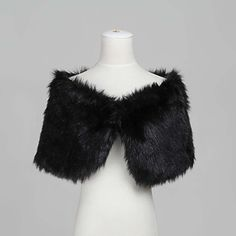 Nice Sleeveless Faux Fur Evening/Wedding Shawl - USD $ 14.39 Lady M or Lady MD