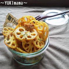 お弁当に~ハニーカレー旨ツナれんこん~(常備菜)