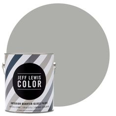 Jeff Lewis Color is a premium, ultra-low VOC interior paint that delivers excellent hiding qualities and durability. Quarter-gloss is ideal for use in bathrooms and on kitchen walls. This premium paint is among our top-pinned products.