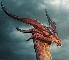 Dragon, Bryan Wynia on ArtStation at https://www.artstation.com/artwork/dragon-34a71666-18df-4142-b19e-23745d9e4f45