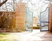 English Garden Gates . Chicago Botanic Garden