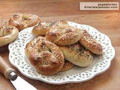 Receta de lazos de pan salados o pretzels