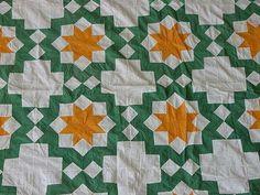 antique hand pieced quilt