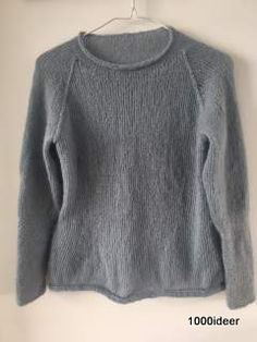 Mohair sweater with special detail at the slevs