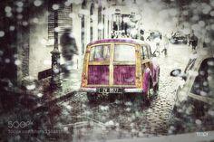 Rain in Dublin by RadekTeopeDrbohlav Street Photography #InfluentialLime