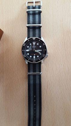 Classic easy Bond style. Seiko SKX007 on a NATO strap