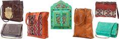 Marrakech Musthaves: tassen van leer en meer. Zo... wat een te gekke tassen zeg! Ze komen uit Marokko en hebben ook dat vleugje Ibiza, zeker de exemplaren met kelim tapijt...