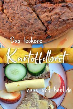 Das leckere Kartoffelbrot. Dieses Rezept zeigt dir ein unverwechselbares Brot Rezept! Schnelles Brot, Brot zum Grillen, gesundes Brot, einfaches Brot, Vollkorn Brot, Dinkelbrot, Roggenbrot, Hefebrot, veganes Brot, Brot backen, Brot backen schnell, Brot backen Rezept, Brot backen gesund, ohne Brotbackautomat, Brot backen im Topf. #brotbacken #vegan #kartoffeln #leckerfürjedentag