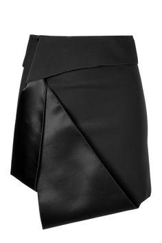 DION LEE Sail Tux Mini-Skirt