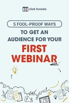 Webinars are the great way to build trust and rapport with existing leads but also to attract new customers too. If you're reading this, I'm guessing you have either created your first webinar or are planning to create one. Either way, I am happy to hear you are taking this exciting step and to help you get a full audience, I have listed five tips that are easy to implement and won't break the bank… you can thank me later. #webinartips #marketing #onlinemarketing Facebook Marketing, Marketing Plan, Sales And Marketing, Content Marketing, Online Marketing, Social Media Marketing, Digital Marketing, How To Get, How To Plan