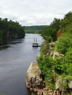 St. Croix River at Interstate State Park (Minnesota side)