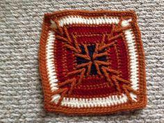 Ravelry: Project Gallery for Migration pattern by Kris Kelln Crochet Afghans, Crochet Blankets, Crochet Patterns, Crochet Blocks, Crochet Squares, Granny Square Afghan, Granny Squares, Granny Square Projects, Jacob's Ladder