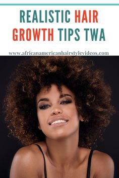 REALISTIC Hair Growth Tips TWA → Mini Fro Hair Growth Tips, Natural Hair Growth, Natural Hair Styles, African American Hairstyles, Hair Videos, Hair Hacks, Mini, Natural Hair Growing