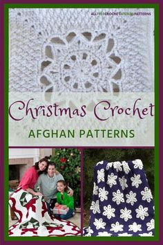 Get ready for his holly jolly arrival with these 41 Christmas Crochet Afghan Patterns. While the sugar cookies bake in the oven, hook a Christmas crochet blanket that features poinsettias, wreaths, Christmas trees, snowflakes, and other seasonal favorites.