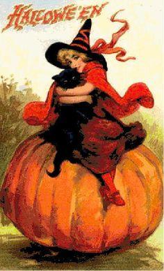 Halloween Cross Stitch Pattern PDF  Vintage by Abracraftdabra, $8.99