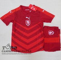 Primera Camiseta De Niños De República Checa 2016 €15.59