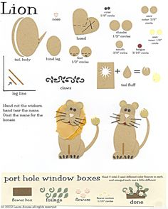 paper punch art patterns | Paper-Punch Art - Zoo