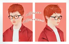 """"""" The good kids """" hair retextures*click to enlarge* Hi guys some retextures of…"""