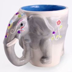 Elephant Mug, so cute.