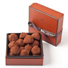 For the Lover of Little Luxuries: Plain Truffles by La Maison du Chocolat