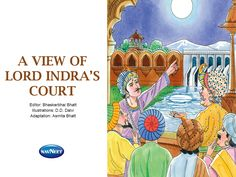 A View Of Lord Indra's Court, MangoReader celebrating Akbar-Birbal stories Week.