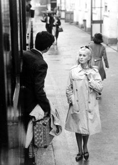 """Catherine Deneuve in """"Les Parapluies de Cherbourg"""""""