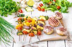 Kasvisvartaat ja täytetyt pekonisienet Ricotta, Sushi, Ethnic Recipes, Waiting, Food, Essen, Meals, Yemek, Eten