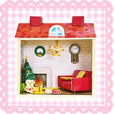 PAPERMAU: Doll Houses With Furniture - by Kids.Goo.Ne.Jp - C...