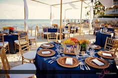 The Reach, Key West #reception in pink and white