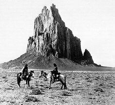 LAPAHIE.com 6.5  Shiprock Peak, NM, 1914 - Navajo Nation