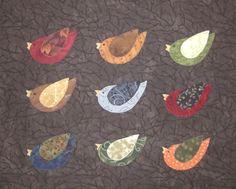 Bird quilt Jane Zillmer