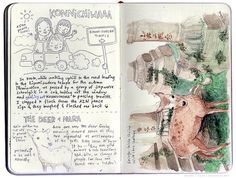 Wedgienet: Japan illustrated travel journal | Flickr - Photo Sharing!