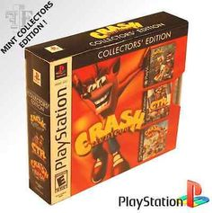 Image result for crash bandicoot collector's edition
