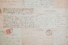 Old postcards