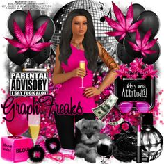"Combine CT Timeline, Tag and Snags for GraphFreaks and Bibi's Collection with their match ""Suzie Q"" Graphfreaks made this gorgeous tube for me for my B-Day her name is ""Suzie Q"" PTU,  and my dear friend Bibi  from Bibi's Collection, made a  matching kit to go with her, with a palette of, black, hot pink  and silver lots of elements and papers to play with, both available in store now, only at Scraps & Company http://graphfreaks.blogspot.com/search/label/Timeline%20Set"
