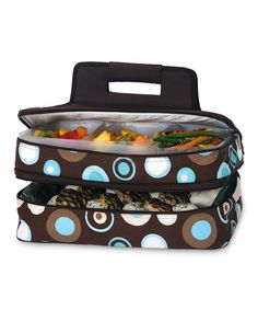 Take a look at this Café Ole Entertainer Food Tote by Potluck Party Collection on #zulily today!