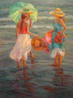 Good Friends - Copyright  Diane Leonard, http://www.dianeleonard.com