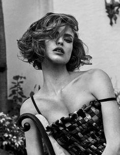 Vogue Germany March 2018 Birgit Kos by Giampaolo Sgura