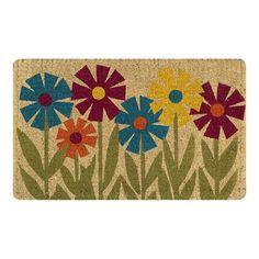 Paint your own coir doormat?