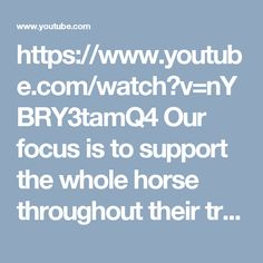 https://www.youtube.com/watch?v=nYBRY3tamQ4 Our focus is to support the whole horse throughout their training and this includes providing them with suitable coping skills throughout their life and career paths. Spook busting is an essential part of their growth as they move from fear and flight into being capable to process and respond effectively and safely. Our approach includes supporting horses with sound spookbusting, thus moving from innate concern into conscious coping.