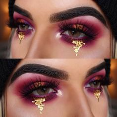 We can always develop an illusion using brilliant eye make-up techniques. Adhere to these 11 easy make-up HACKS as well as make your eyes LOOK BIGGER and BEAUTIFUL. CLICK VISIT link to read more -- Eye shadow makeup Makeup Goals, Makeup Inspo, Makeup Inspiration, Makeup Tips, Coachella Make-up, Make Up Ojos, Maquillage On Fleek, Rave Makeup, Cheer Makeup