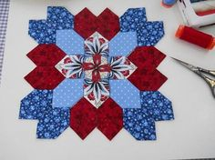 Lucy Boston Patchwork of the Crosses Block kit # 0019