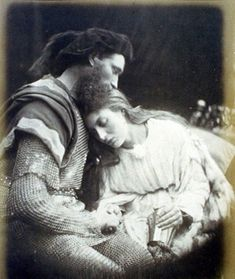 "SIR LANCELOT....""The Parting of Sir Lancelot and Queen Guinevere""."