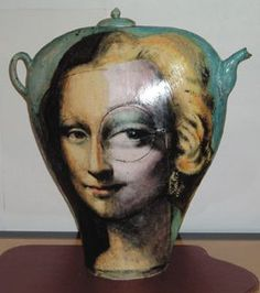 "Noi Volkov ""Two of a Kind"" teapot, Ceramic x x Courtesy of John Elder Gallery Mona Lisa, Cute Teapot, Ap Studio Art, Classic Artwork, Tea Cozy, China Art, Ceramic Teapots, Chocolate Pots, Tea Ceremony"