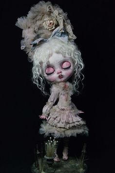 Ooak Custom Blythe Artist Doll by LesTizOrphelinByAlsw on Etsy