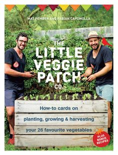 Little Veggie Patch How To Cards $19.95
