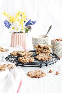Süßer Snack? Gesunde Bananen-Haferflocken-Cookies!