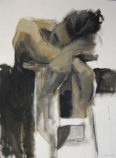 imprressionist style contemporary portrait art , the dancer ballet karen l. Figure Painting, Figure Drawing, Painting & Drawing, Life Drawing, Figurative Art, Love Art, Painting Inspiration, Urban Art, Art Drawings