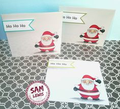 Acetate Front Christmas Card by Sam Lewis AKA The Crippled Crafter Spectrum Noir, Inktober, Colouring, Cardmaking, Christmas Cards, Santa, How To Make, Inspiration, Color
