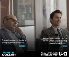 Repin if you agree with Neal! #WhiteCollar
